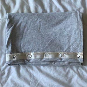 lululemon vinyasa scarf gray